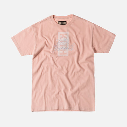 Kith Fake Friends Script Tee - Pink