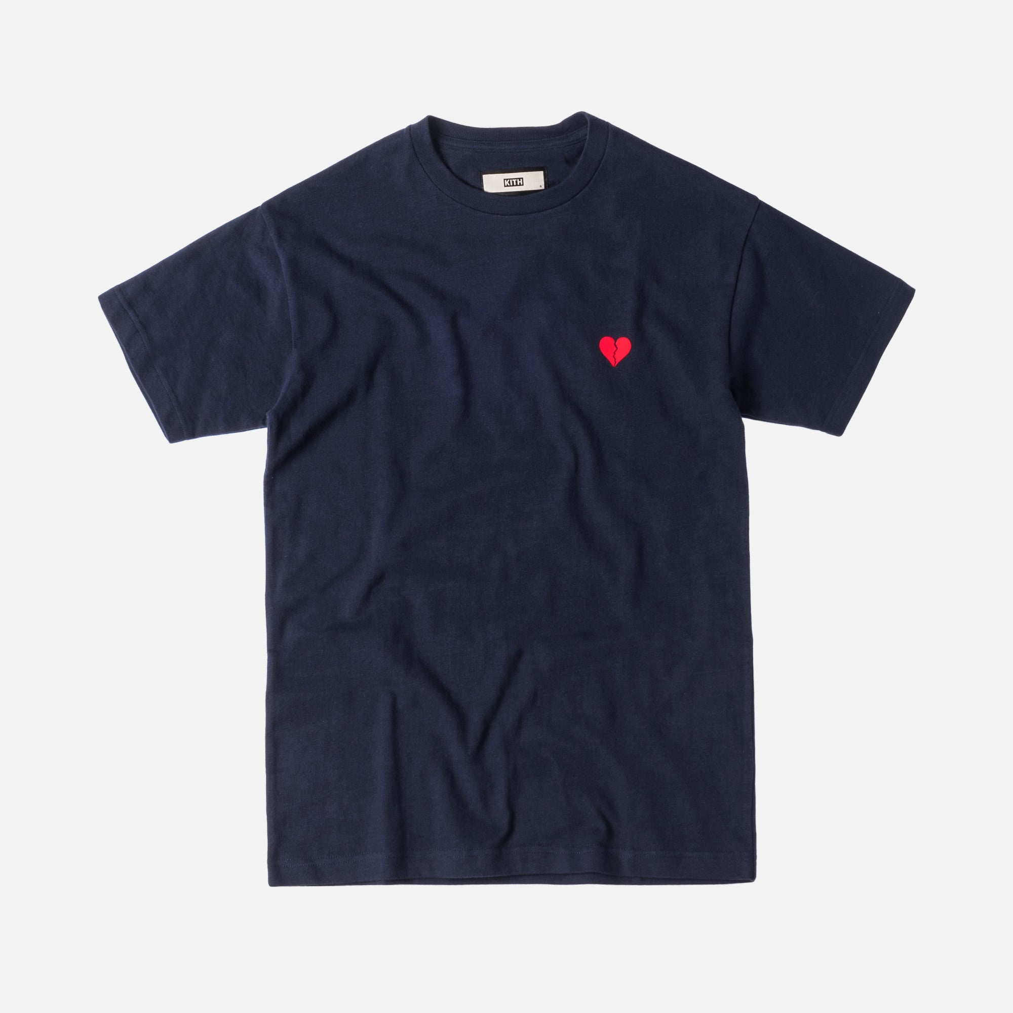 Kith Broken Hearts Tee - Navy