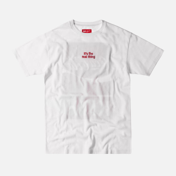 Kith x Coca-Cola The Real Thing Tee - White