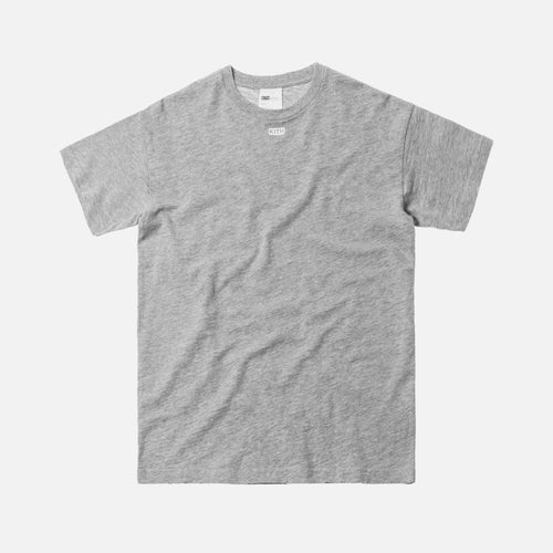 Kith JFK Classic Logo Tee - Heather Grey