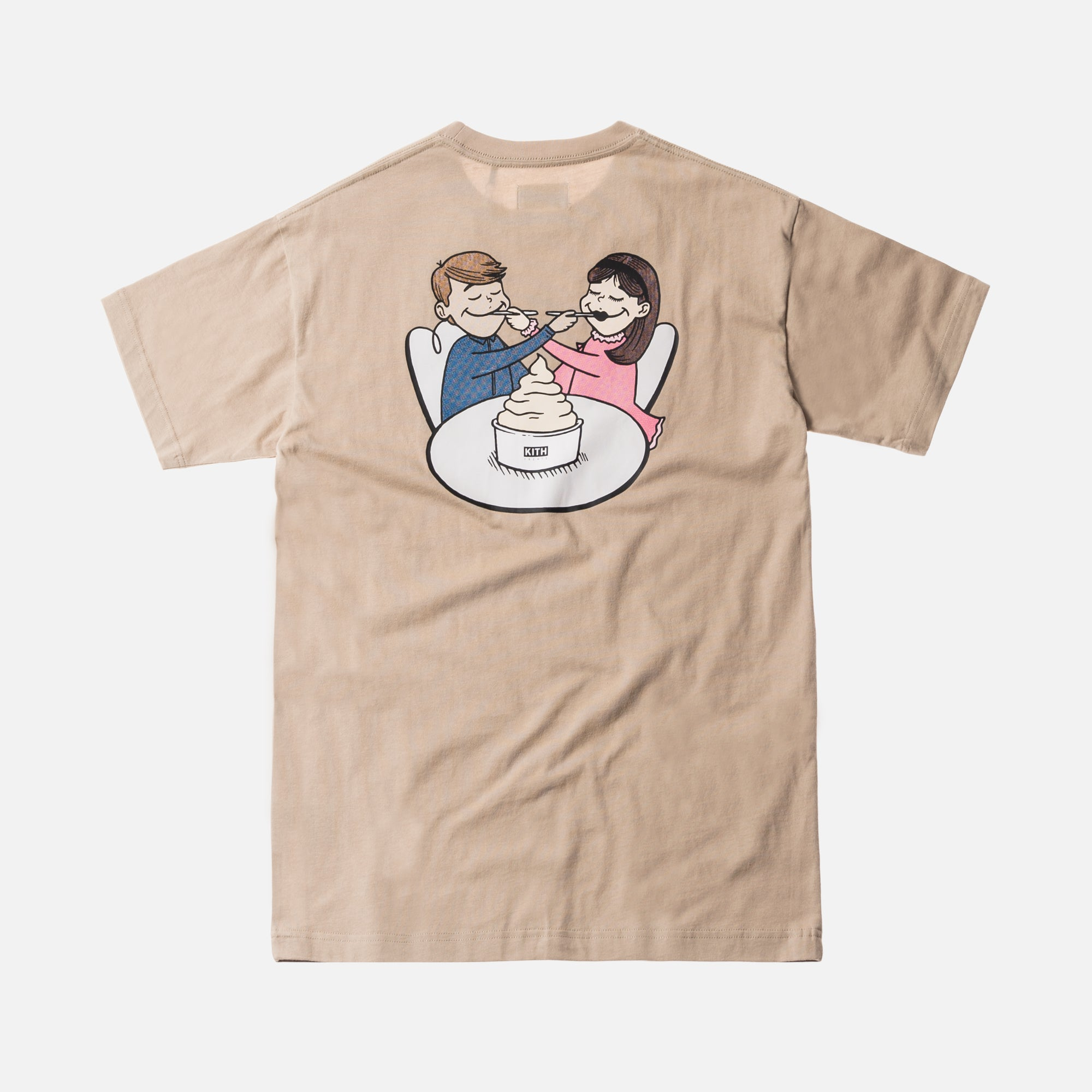 Kith Treats Delivered Tee - Sand