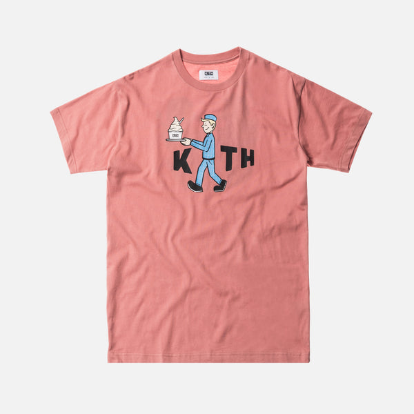 Kith Treats Delivered Tee - Pink
