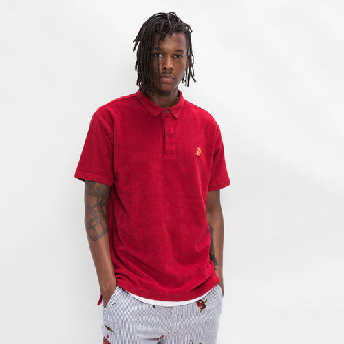Kith Regal Terry Polo - Red