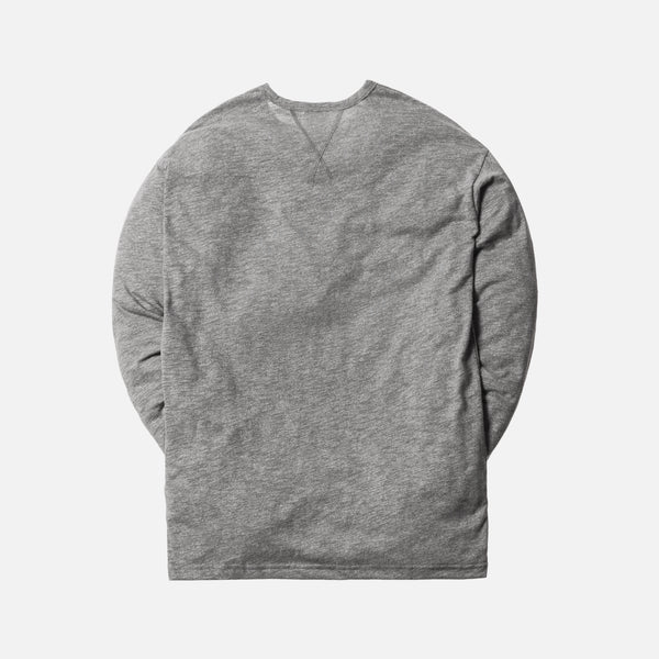 Kith Classics LaGuardia L/S Tee - Heather Grey
