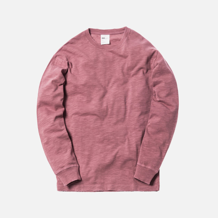 Kith JFK L/S Tee - Grape Shake