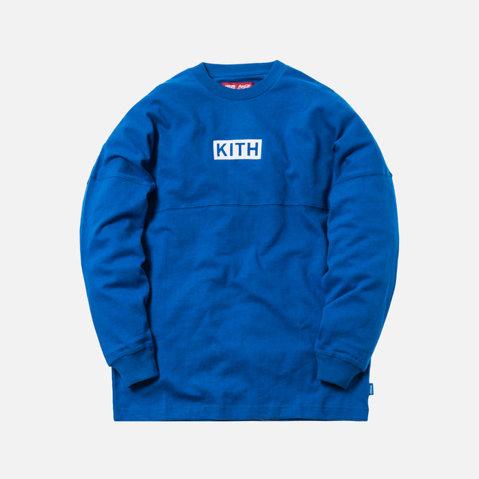 Kith x Coca-Cola Global L/S Tee - Blue