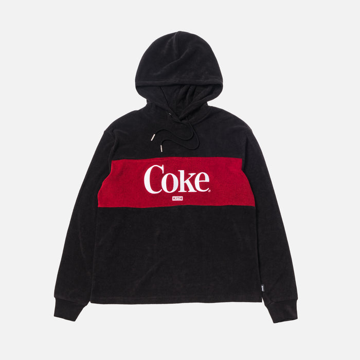 Kith Women x Coca-Cola Terry Hoodie - Black