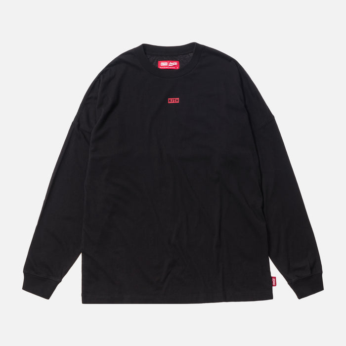 Kith Women x Coca-Cola Graphic L/S - Black