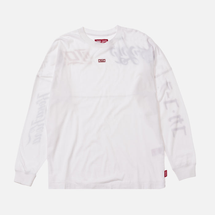 Kith Women x Coca-Cola Graphic L/S - White