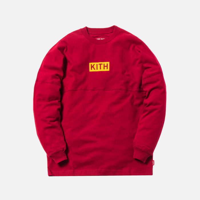 Kith x Coca-Cola Global L/S Tee - Red
