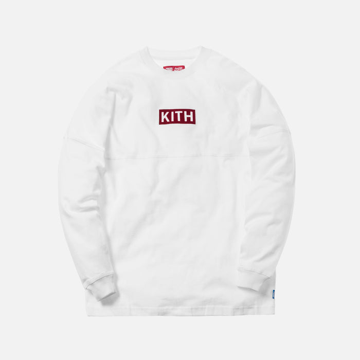 Kith x Coca-Cola Global L/S Tee - White