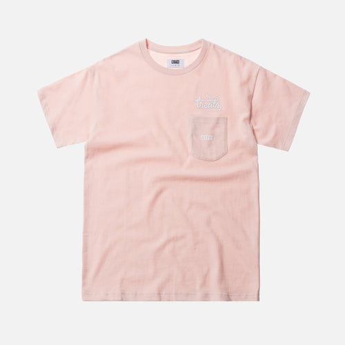 Kith Treats Milkshake Special Pocket Tee - Pink