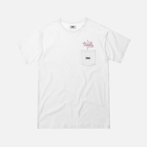 Kith Treats Milkshake Special Pocket Tee - White