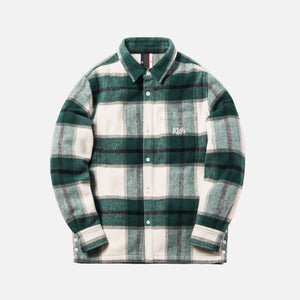 Kith Ginza Heavy Weight Flannel - Off White Plaid