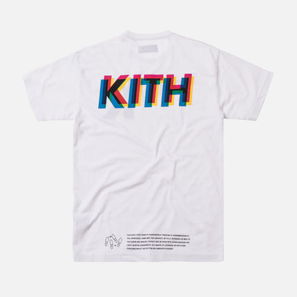 Kith Basic Step Tee - White