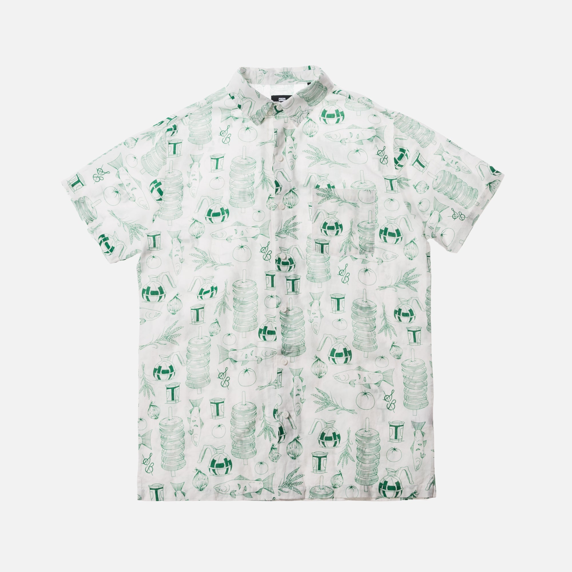 Kith x Sadelle's All Over Hawaiian Button-Up - Multi