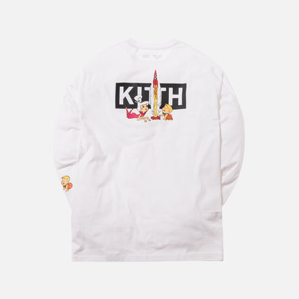 Kith x Jetsons Rockets L/S Tee - White