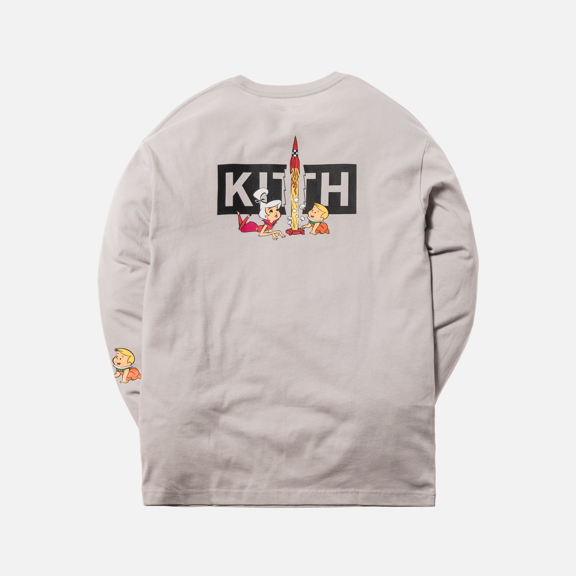 Kith x Jetsons Rockets L/S Tee - Grey