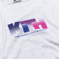 Kith Sight and Sound L/S Tee - Heather Grey Thumbnail 1
