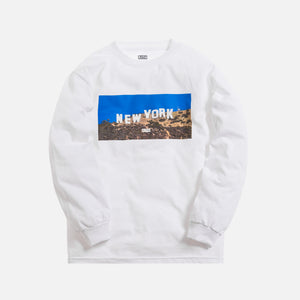 Kith New York Hollywood L/S Tee - White