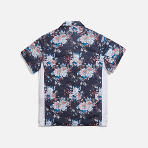 Kith Floral Panel Camp Shirt - Navy / Multi Image 2