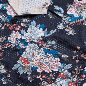 Kith Floral Panel Camp Shirt - Navy / Multi Image 3