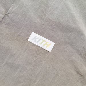 Kith Snap Front Wrinkle Nylon Shirt - White Pepper