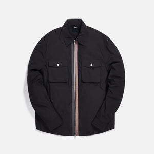 Kith Military Crispy Nylon Work Shirt - Espresso
