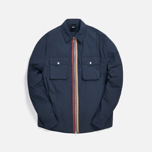 Kith Military Crispy Nylon Work Shirt - Ebony Image 1