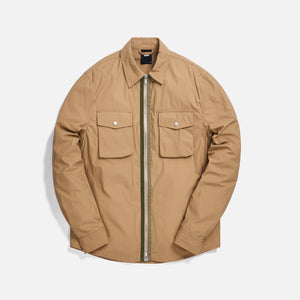 Kith Military Crispy Nylon Work Shirt - Travertine Image 1