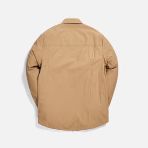 Kith Military Crispy Nylon Work Shirt - Travertine Image 2