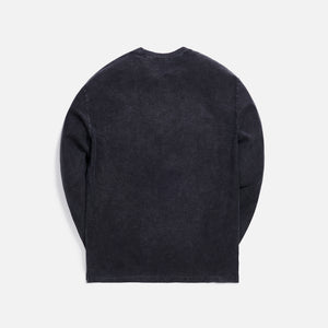 Kith Quinn Crystal Washed L/S Tee - Black Image 2