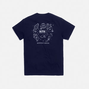 Kith Treats Midnight Snack Tee - Navy