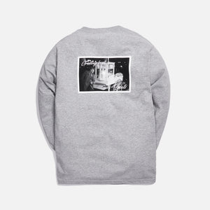 Kith Treats Popcorn L/S Tee - Heather Grey