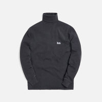 Kith Compact Knit Turtleneck - Black Thumbnail 1