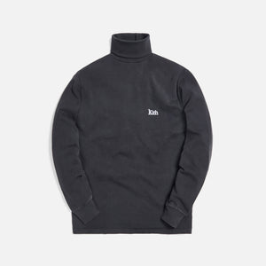 Kith Compact Knit Turtleneck - Black Image 1
