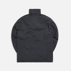 Kith Compact Knit Turtleneck - Black Image 2
