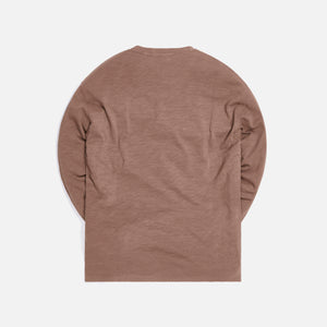 Kith JFK L/S - Dark Tan Image 2