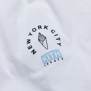 Kith Treats Locale New York Tee - White Image 3