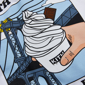 Kith Treats Locale New York Tee - White Image 4