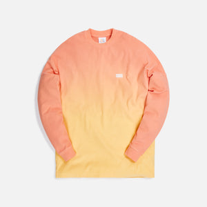 Kith for Lucky Charms Dip Dye L/S Tee - Orange / Yellow Image 1