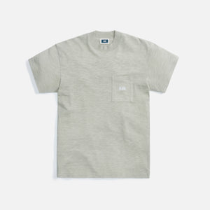 Kith Mock Neck JFK Pocket Tee - Plaster