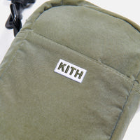 Kith Quilted Crossbody - Olive Thumbnail 2