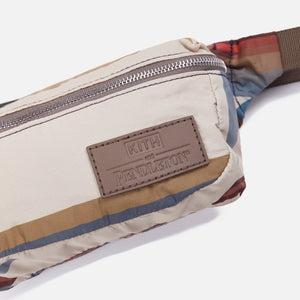 Kith for Pendleton Odell Waistbag - Tan / Multi Image 2