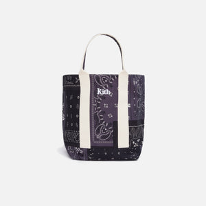 Kith Bandana Tote Bag - Black