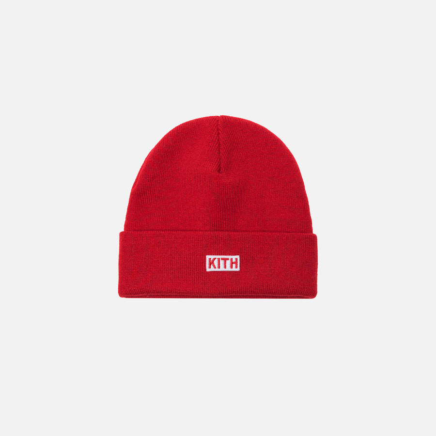 Kidset Classic Logo Beanie - Red