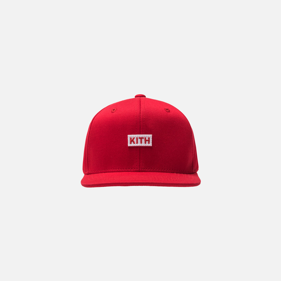 Kidset Classic Logo Snapback - Red
