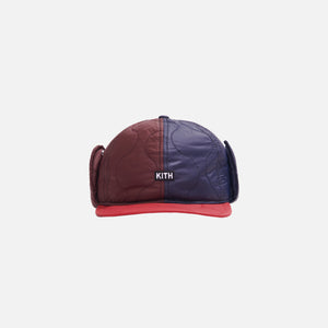 Kith Quilted Colorblocked Ear Flap Cap - Multi