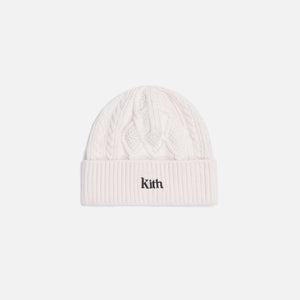 Kith Slyvan Cable Beanie - Ivory