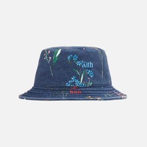 Kith Botanical Floral Bucket Hat - Nocturnal